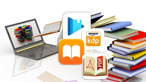Sell Books in Amazon, Google Play Books, Apple Books as Pro