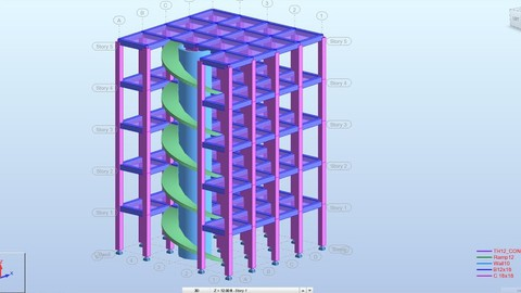 Robot structural design 15 stories residential buildings