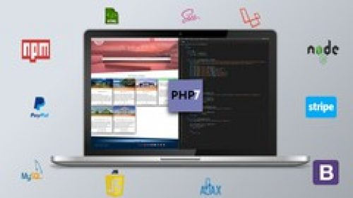 [82 Hours] Ultimate PHP, Laravel, CSS & Sass! Learn PHP, Laravel & Sass