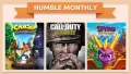 Unlock Call of Duty: WWII, Crash Bandicoot N. Sane Trilogy, and Spyro Reignited Trilogy, plus more when you subscribe to Humble Monthly! (TOTAL MSRP WAS: $139.97)