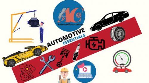 اساسيات هندسة السيارات – AUTOMOTIVE ESSENTIALS