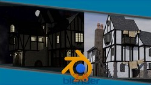Blender 2.8 Complete Beginners Guide to 3D Modelling a Scene