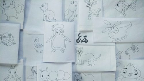 Explore Kid's creativity through Sketching : Drawing Course