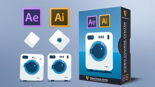 Motion Graphics Design & Flat Animation in After Effects CC