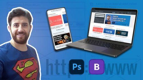 Photoshop CS6 ile Sıfırdan Responsive Web Tasarımı Yapıyoruz