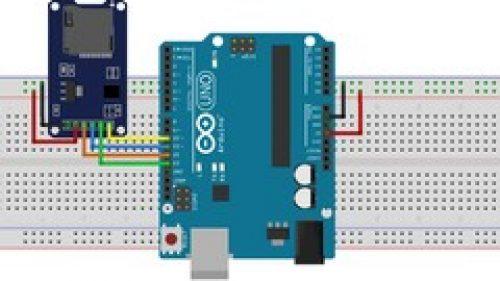 SD Card Interfacing with Arduino